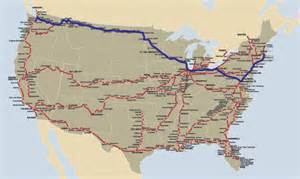 Map Of Amtrak Routes by Map Of All Amtrak Routes Pictures To Pin On Pinterest