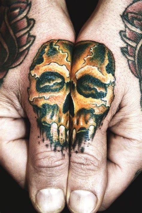 finger tattoo san jose skull thumb tattoo sierra colt repinned www