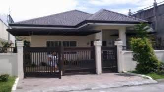 Bungalow Style House Philippines Style House Plans Bungalow House Plans