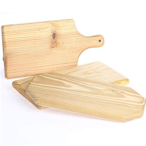 small unfinished wood cutting board wooden plaques and