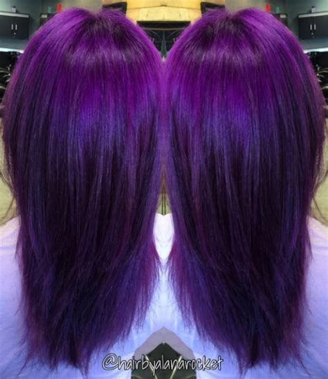 amethyst hair color amethyst locks are the hair colour trend for