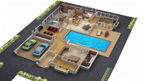 House Plans With 3d Tour by Best 3d House Plans Screenshot Home Floor Plan Designs