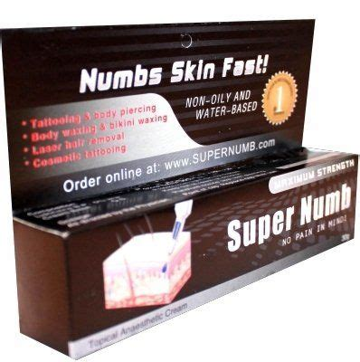 dr numb tattoo cream how to get a and stop the numbing