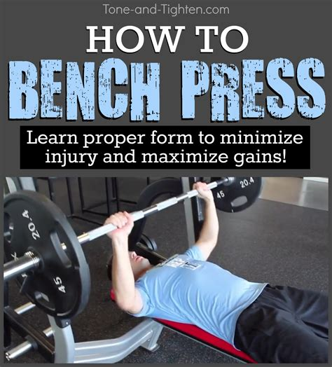 proper bench proper form for bench press mariaalcocer com