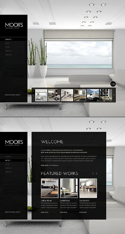 52 Best Images About Interior Furniture Website Templates On Pinterest Interior Design Furniture Website Templates Free