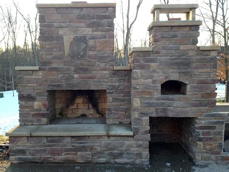 Fireplace Pizza Oven Combo by Combo Oven And Fireplace