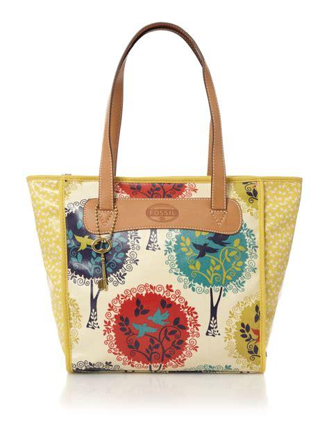 Sold Fossil Shopper Multi fossil shopper tote in multicolor multi coloured lyst