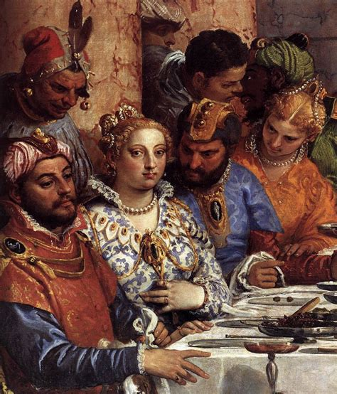 Wedding At Cana Whose Wedding by The Marriage At Cana Detail By Veronese Paolo