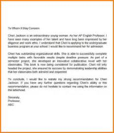 Scholarship Recommendation Letter High School Student 11 Scholarship Recommendation Letter For High School Student Quote Templates