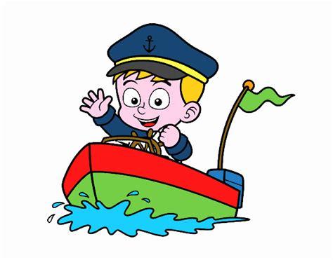 capitanes de barcos para colorear dibujo de barco y capit 225 n pintado por en dibujos net el
