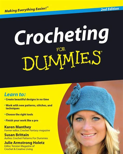 how to knit for dummies 37 best images about crochet books and magazines on