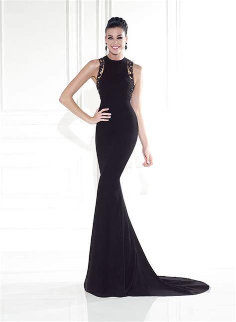 Classic Evening Dress classic evening dresses black lace sleeveless