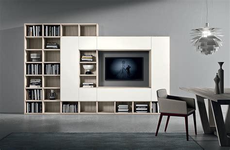 wandmeubel design kasten boekenkast novamobili giorno design 033 wandmeubels