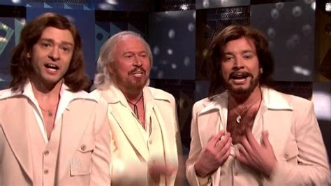 Bee Gees Vs Nelly Justin Timbaland by Jimmy Fallon And Justin Timberlake Photos Photos
