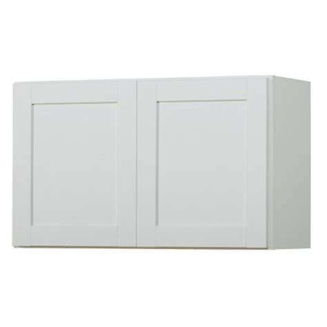 shaker cabinet doors lowes shop now arcadia 30 in w x 18 in h x 12 in d white