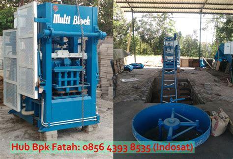 Jual Cetakan Batako Jogja jual mesin paving block hidrolik multi block sb 306