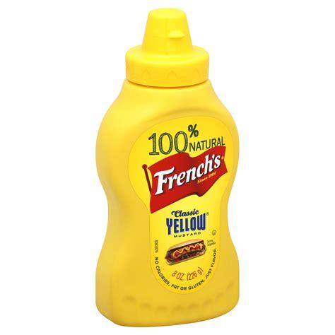 Classic Yellow Mustard By Sokolati upc 041500007007 mustard classic yellow 8 oz 226 g
