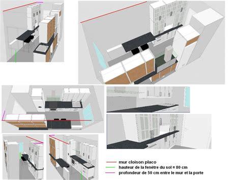 Meuble Plan De Travail Cuisine 343 by Plan Cuisine Ikea 8 M2 Vos Avis 5 Messages
