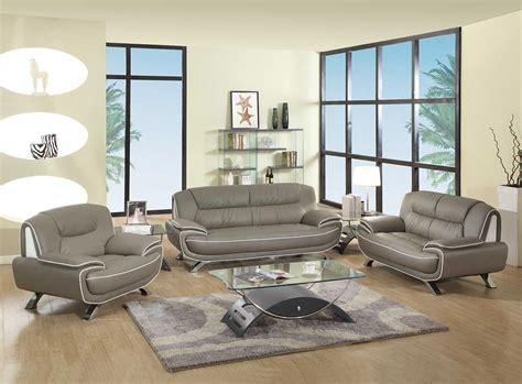Grey Living Room Furniture Set 2 Pcs Grey Living Room Set