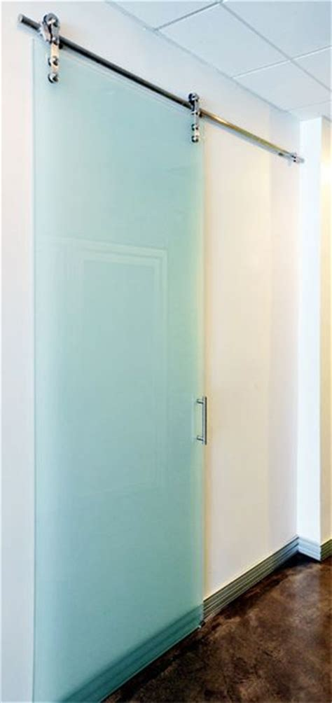 modern glass interior barn doors doors pinterest