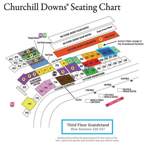 churchill downs seating views winspire experience kentucky derby