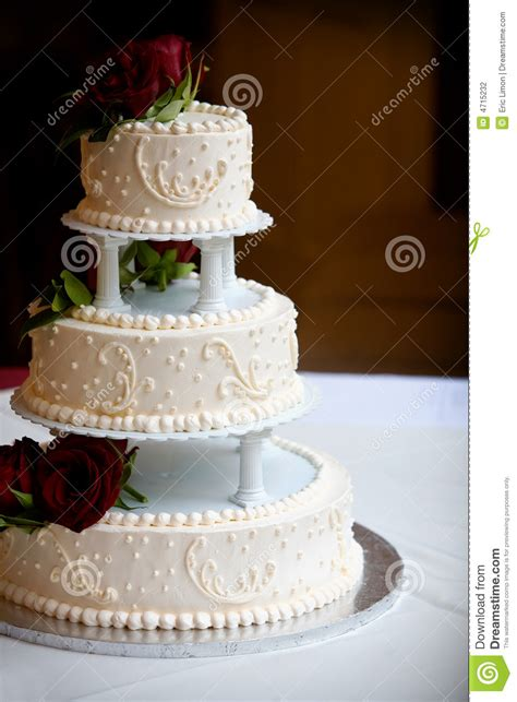 Wedding Cake Kl by Wedding Cake With Three Tiers Stock Photography Image