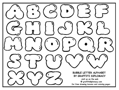 printable bubble fonts bubble letter e coloring pages art free printable