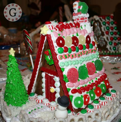 a frame gingerbread house template 6x6