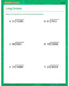 the long division download the division worksheet for more