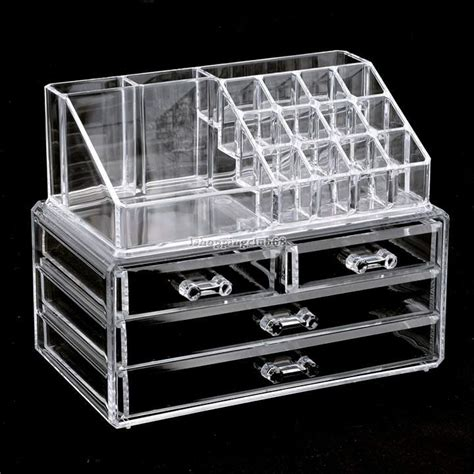 Acrylic Makeup Organizer 4 drawers acrylic cosmetic organizer sk collection
