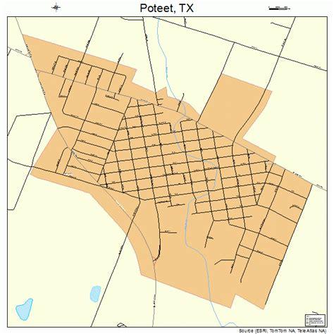 poteet texas map poteet texas map 4859084