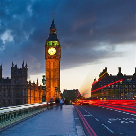 big ben uk london city street ipad wallpaper