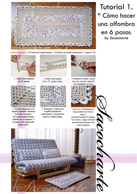 tutorial alfombra ganchillo xl 17 mejores im 225 genes sobre alfombra en pinterest trapillo