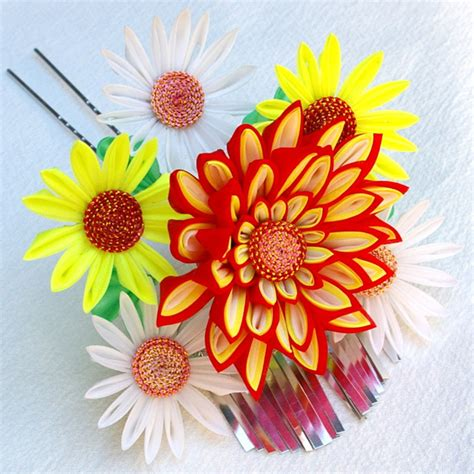 new toys clover kanzashi flower templates
