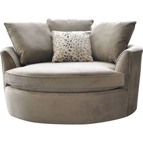 Cuddler Swivel Sofa Chair Home And Textiles Swivel Chair Sofa