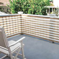 sichtschutz stellwand terrasse privacy screen for deck porch and patio railings the
