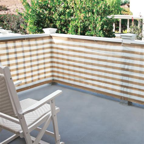 screens for patio privacy screen for deck porch and patio railings the