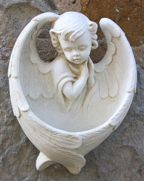 angel font garden ornament garden ornaments find cherub
