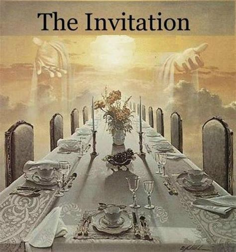 invitation to the wedding feast pin by lada on where i want to be