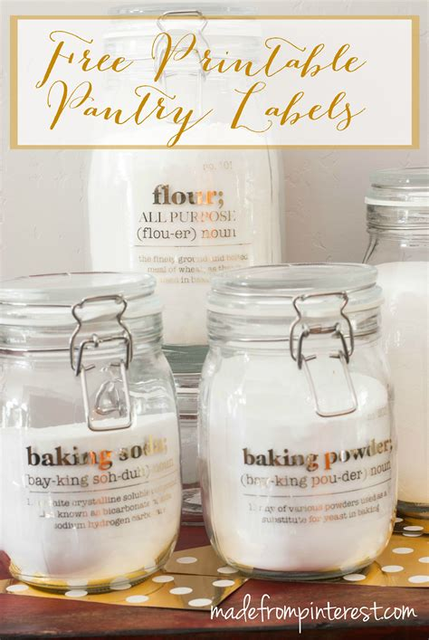 free printable pantry labels tgif this is