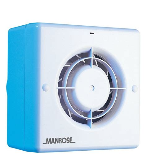 non electric bathroom extractor fan manrose cf100t toilet bathroom quiet extract fan with timer