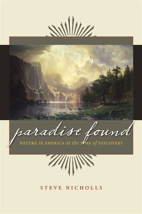 walden warming book paradise found nature in america at the time of discovery