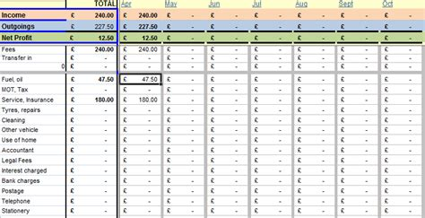 Bookkeeping Spreadsheets by Bookkeeping Spreadsheets Spreadsheet Templates For