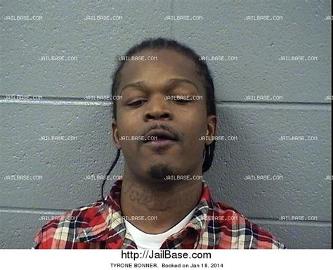 Bonner County Arrest Records Tyrone Bonner Arrest History