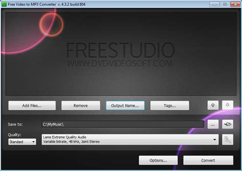 is studio free how to extract audio from to mp3