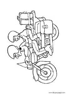 Dibujo De Motos Para Colorear 010 sketch template