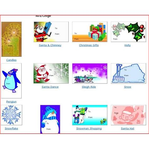 christmas gift templates free and easy options