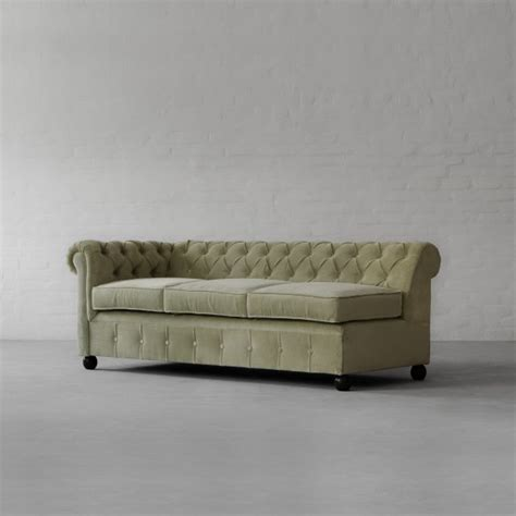 chesterfield sofa with chaise chesterfield chaise sectional sofa large
