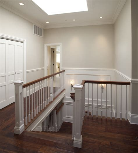upstairs traditional staircase san francisco by arch studio inc
