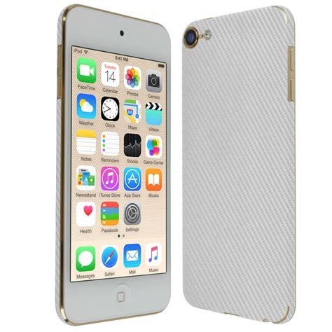 Ipod Touch 6th Generation Giveaway - skinomi techskin apple ipod touch silver carbon fiber skin protector 6th generation